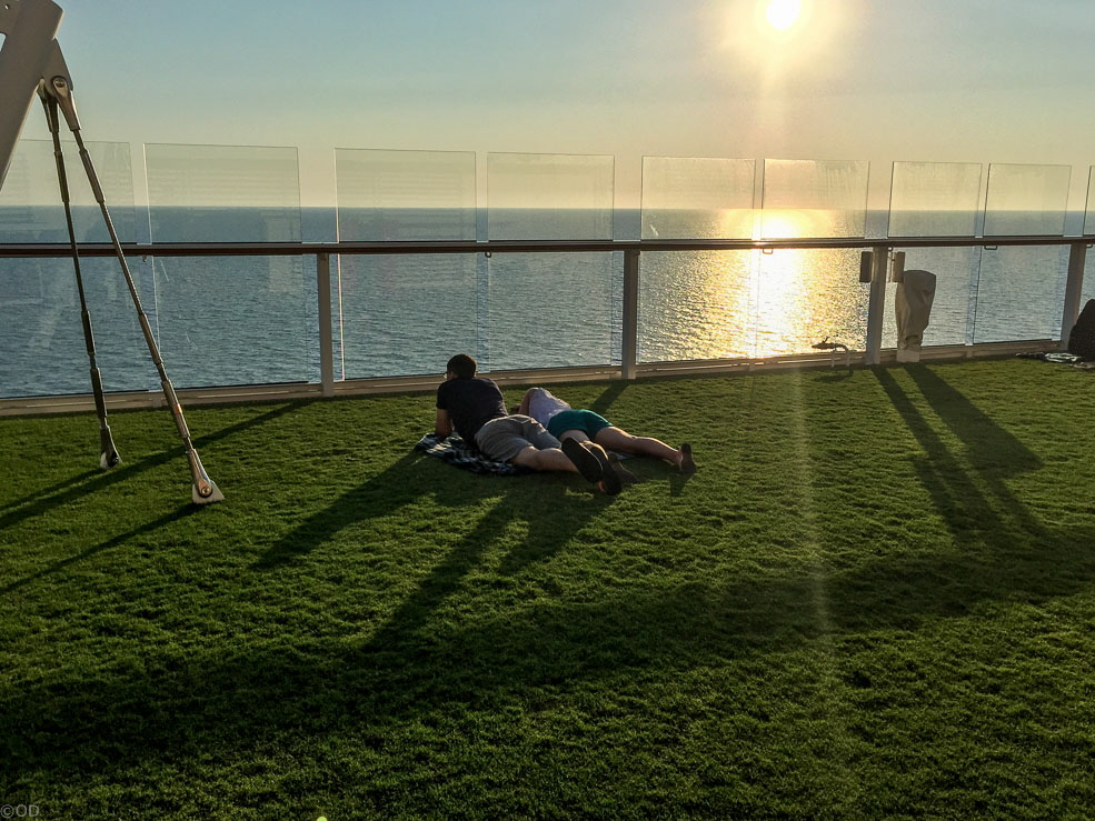 Celebrity Reflection Lawn Club