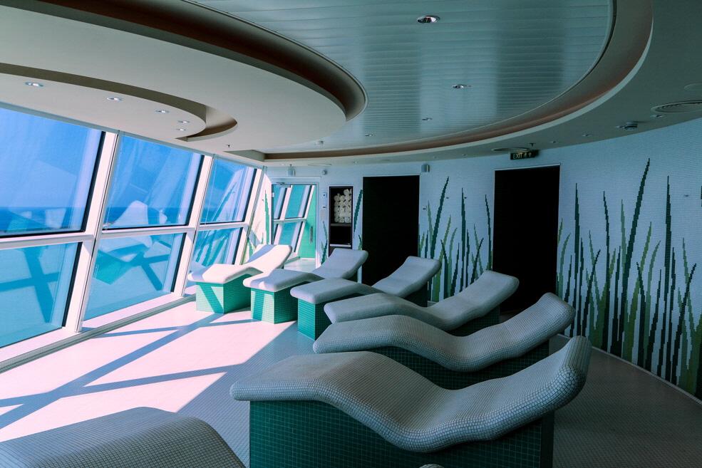 Millenium cruise aqua class on celebrity